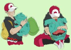 1boy 1girl 2018 ahe_gao bag blue_skin bulbasaur carrying cunnilingus erection eyes_closed fellatio feral fingering hat holding human human_on_feral interspecies male mammal moan moaning moaning_in_pleasure nintendo open_mouth oral penis perunagekko pokémon_(species) pokeball pokeballs pokemon pokemon_go pokemon_rgby pokephilia scalie sketch smile smiling spread spread_legs spreading tongue_out video_games zoophilia
