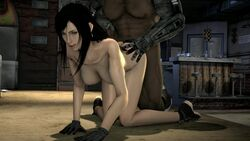 3d animated bar barret_wallace bbc big_breasts black_hair bouncing_breasts breasts dark-skinned_male dark_skin diner doggy_style female final_fantasy final_fantasy_vii huge_cock interracial jax_briggs large_breasts long_hair lookalike male mortal_kombat nude orgasm penis sex sound sound_effects straight sweat tagme tifa_lockhart uncensored webm