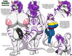 anthro anus balls big_balls big_breasts breasts bulge canine clothed clothing english_text erection fenrir_lunaris flaccid herm huge_balls huge_breasts humanoid_penis hybrid hyper hyper_balls hyper_breasts hyper_penis intersex looking_at_viewer mammal model_sheet nude penis puffy_anus scalie solo standing text thick_thighs tongue tongue_out vein voluptuous wide_hips