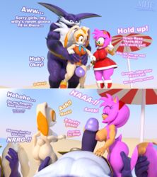 1boy 2018 2girls 3d_(artwork) aged_up amy_rose balls beach big_balls big_penis big_the_cat comic cream_the_rabbit dialogue digital_media_(artwork) english_text female fingering group group_sex handjob male male/female masturbation moorsheadfalling nude penis pussy pussy_juice seaside sega sex sonic_(series) sonic_heroes sonic_team text threesome video_games