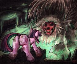 blood equine female friendship_is_magic horse hoshiko made_in_abyss mammal my_little_pony orbed_piercer pony pussy twilight_sparkle_(mlp)