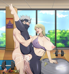 1boy ahe_gao alternate_version_available areolae balls barefoot belly big_breasts blonde_hair blush breast_press breasts breasts_out_of_clothes busty cleavage clothed_female_nude_male clothed_sex clothing cum cum_in_pussy cum_inside cum_leaking cum_on_body cum_on_lower_body cum_on_penis cum_trail cumdrip curvy cyberunique edit ejaculation erect_nipples erection excessive_cum feet female fucked_silly grabbing hand_on_thigh hatake_kakashi holding holding_leg huge_breasts human large_breasts leg_lift leg_spread legwear licking lipstick long_hair male mind_break naruto naruto_bomb naruto_shippuden nii_yugito nipples no_panties non-furry nude open_clothes open_mouth orgasm paipan pale-skinned_female pale_skin penetration penis ponytail pussy pussy_juice raykus red_lipstick saliva sex shaved_pussy silver_hair soles splits spread_legs standing standing_on_one_leg standing_sex straight sweat testicles thick_thighs tight_clothes tight_fit toes tongue tongue_out uncensored vagina vaginal_penetration vertical_splits very_long_hair voluptuous wet