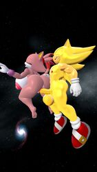 1boy 1girl ass balls big_ass big_butt blaze_the_cat breasts burning_blaze cock dick doggy_style female hand_on_ass happy_sex large_breasts male male/female male_penetrating penis pussy sega smile sonic_(series) sonic_the_hedgehog space straight super_sonic testicles vagina vaginal_intercourse