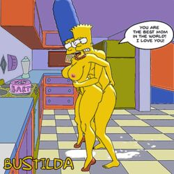 animated incest marge_simpson milf mother the_simpsons
