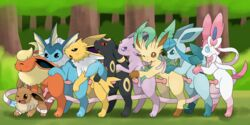 9boys all_fours anal anal_sex animal_genitalia animal_penis ass black_fur blue_fur blush bound canine_penis digital_media_(artwork) ear_fins eevee eeveelution erection espeon feral feral_on_feral fin flareon frill from_behind_position fur furry gay glaceon group group_sex head_fin interspecies jolteon km-15 knot leafeon looking_back love_train male male_only male_penetrated male_penetrating markings nintendo nude one_eye_closed open_mouth orgy outside penetration penis penis_backwards pink_penis pokémon_(species) pokemon pokemon_dppt pokemon_gsc pokemon_rgby pokemon_xy quadruped red_eyes sex size_difference socks_(marking) standing sylveon tapering_penis testicles thick_thighs train_position umbreon vaporeon video_games white_fur yaoi yellow_fur
