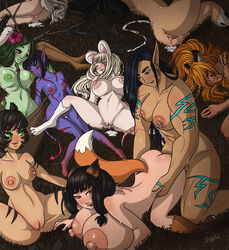 1futa 6+girls areolae ass breasts cao_haze cum cum_drip cumshot curvy erect_nipples erection female female_penetrated female_with_female femsub futa_on_female futa_with_female futadom futanari group hi_res huge_ass huge_breasts humanoid humanoid_on_humanoid large_ass large_breasts large_nipples large_penis larger_futanari leilan multiple_girls muscular_futanari nipples nude penetration penis pointy_ears size_difference vaginal_penetration