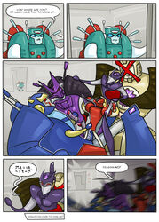 2018 4_arms alien caught colored_cum comic cum cum_inside cybertronian decepticon dialogue digital_drawing_(artwork) digital_media_(artwork) english_text erection exhibitionism fellatio female grinding group group_sex handjob helex_(transformers) holding_up humanoid humanoid_penis intersex intersex/male kaon_(transformers) living_machine machine male male/male multi_arm multi_limb nickel_(transformer) not_furry open_mouth oral orgy penis pink_cum pollution-of-subterranean-waters prodding public pussy red_eyes sex simple_background size_difference smile standing tarn_(transformers) tesarus_(transformers) text tongue tongue_out transformers unusual_cum vos_(transformers) walking_in_on