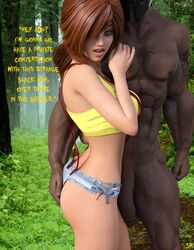 3d bbc big_penis dark-skinned_male dark_skin english_text female interracial kasumi_(pokemon) male pokemon red_hair sick_phuck straight text