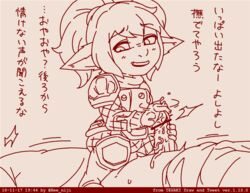beecon123 clothed_sex cowgirl_position femdom handjob larger_male poppy rubbing shortstack smaller_female smile straddle translation_request yordle