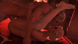 3d animated balls bomyman ciri erection female geralt_of_rivia male no_sound nude penis sex source_filmmaker straight testicles the_witcher webm