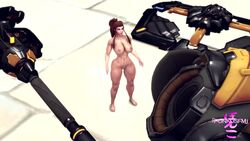 3d animated brigitte duo female female_only nude oral overwatch ponkosfm shrinking size_difference sound source_filmmaker tagme tickling webm widowmaker yuri