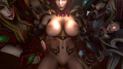 3d 5girls alexstrasza animated bouncing_breasts breasts character_request female large_breasts male multiple_girls nipples no_sound penis pussy sex sfmpov source_filmmaker sylvanas_windrunner tyrande_whisperwind vaginal vaginal_penetration webm world_of_warcraft