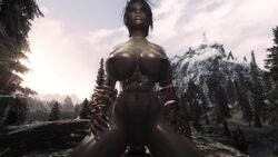 1080p 3d animated big_breasts big_penis breasts cowgirl_position fangs female female_on_top fit fit_female glistening_skin green_skin hetero interspecies loop male_pov muscular muscular_female nipples orc orc_female penetration pov sex sexusfastis shiny_skin skyrim sound tagme tattoos the_elder_scrolls vaginal_penetration webm