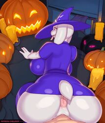 1boy 1girl 2018 4_fingers animal_ears animated anthro anthrofied anus ass big_ass big_breasts big_butt big_penis bottomless butt chelodoy doggy_style erection faceless_male female fur furry garroshedit halloween holidays huge_ass huge_butt huge_penis human humanoid_hands interspecies legwear looking_at_viewer looking_back male male_pov milf mother no_panties no_underwear nude parent penetration penis pov pussy riding sex solo_focus sound sound_edit stockings straight tail text thick thick_ass thick_thighs tongue tongue_out toriel undertale url vagina vaginal vaginal_penetration vaginal_sex video_games watermark webm white_fur wide_hips
