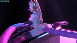 3d absurd_res aleskaart all_the_way_through anal anal_sex black_cat_d.va blender blizzard_entertainment blonde_hair bodysuit breasts cat_ears cat_tail catsuit cum cum_in_ass cum_inside cum_leaking d.va deep_penetration from_behind gape gloves heels highres looking_at_viewer looking_back male nocure21o overwatch pussy sex skin_tight splits stockings straight thighhighs