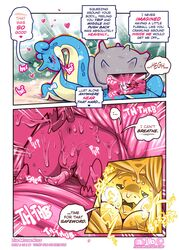 2019 anus balls comic duo electricity female insomniacovrlrd lapras living_insertion male male/female nintendo orgasm penis pikachu pokémon_(species) pokemon size_difference video_games vore