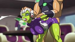 1boy 1girl ahe_gao alien all_the_way_through alternate_version_available animated anythinggoes battle_armor bouncing_ass bouncing_breasts breasts cheelai cleavage cum_through curvy defeated dragon_ball dragon_ball_super_broly elastic_armor erect_nipples female huge_areolae huge_ass huge_breasts hyper hyper_penis interspecies puffy_nipples sex short_hair voluptuous webm wide_hips