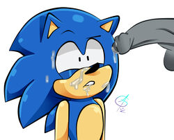 1boy black_eyes blue_fur confused confusion cum cumshot dick grey_penis hedgehog ican-t-get-no-satisfaction male male/male male_only penis penis_milking sega solo solo_male sonic_(series) sonic_(series) sonic_the_hedgehog video_game what