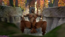 1futa 3d areolae balls breasts dickgirl erection futa_only futanari huge_cock looking_at_viewer nipples penis solo source_filmmaker spread_legs sweetgrapes0101 testicles world_of_warcraft