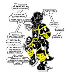 ! ... 2019 3_toes absurd_res anthro bit_gag bodysuit brainwashing bulge chastity clothed clothing cyber_(character) dialogue digital_drawing_(artwork) digital_media_(artwork) disembodied_hand english_text eyewear gag harness harness_bit_gag hi_res hypnosis james_newland male mammal mask mind_control offscreen_character petplay ponyplay roleplay rubber shiny simple_background skinsuit solo solo_focus spiral_eyes text tight_clothing toes white_background yellow_eyes