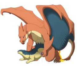 2019 aliena-cordis alpha_channel anal anal_sex blush cum dragon duo feral from_behind_position fur male male/male mammal mega_charizard mega_charizard_y mega_evolution nintendo penetration pokémon_(species) pokemon scalie sex simple_background size_difference smile tongue transparent_background typhlosion video_games wings