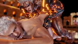 anal anal_insertion anal_sex animated asura's_wrath devil_may_cry gay male male_only male_penetrating nero_(devil_may_cry) rough_sex tagme webm yaoi