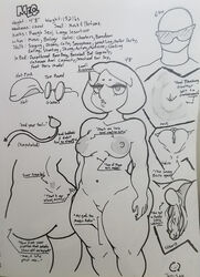 anus areolae big_ass chubby close-up family_guy meg_griffin multiple_nipples pussy scar shortstack tail text thick_thighs tko-san wide_hips