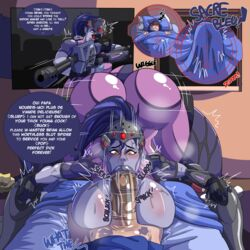 :>= age_difference amazed ass bed bed_sheets bedroom being_watched between_breasts big_ass big_breasts big_penis bimbo blowjob blue_hair blue_skin breasts brian_(overwatch) bulge busty cock_hungry cock_worship covers cross-eyed crossed_eyes curvy dark_blue_hair dark_skin dat_ass dirty_talk erection face_down_ass_up fellatio femsub gigantic_ass gigantic_breasts heart-shaped_pupils huge_ass huge_breasts huge_cock instant_loss_2koma kiss_mark kiss_marks large_ass large_breasts large_penis larger_female lipstick lipstick_mark lipstick_marks lipstick_on_penis lipstick_ring lipstick_smear loonyjams morning_wood motion_line motion_lines night no_pubes oral outercourse overwatch paizuri penis penis_base ponytail pov red_eyes rifle round_ass saliva saliva_trail size_difference sleeping slurp small_but_hung small_dom_big_sub smaller_male sniper sniper_rifle speech_bubble submissive suit surprise text thick_lips thick_penis thick_thighs thighs titfuck unconscious vein veiny_penis visor voluptuous weapon widowmaker worship