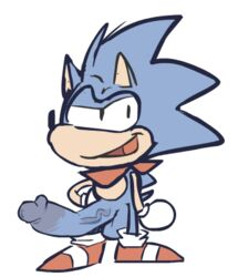 2lewd2rude balls erection lovely_star male male_only sonic_(series) sonic_the_hedgehog standing