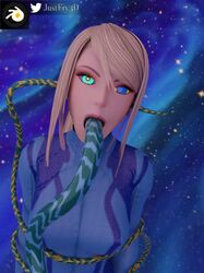 3d animated blonde_hair clothing cum cum_feeding cum_in_mouth cum_inside ear_penetration female hypnosis hypnotic_eyes justfry3d long_hair metroid mind_break mind_control moaning nexus763 oral restrained samus_aran sound space suit swallowing tentacle tentacle_bulge tentacles webm