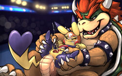 1boy 1girls 2019 absurd_res anal anal_sex bowser carrot_(artist) chubby claws clothed clothing cosplay_pikachu crossover cum cum_in_ass cum_inside duo ejaculation female female_penetrated furry hair hi_res horn interspecies larger_male male male_penetrating mario_bros mask nintendo nude orgasm penetration pikachu pikachu_libre pokémon_(species) pokemon pokemon_oras pokemon_rgby pussy_ejaculation pussy_juice red_hair sex size_difference sketch smaller_female super_smash_bros. torn_clothing video_games