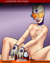 areola areolae breasts costume cunnilingus gloves hand_on_head happy marvel marvel_comics mask medium_breasts naked nipples nude outercourse patreon peter_parker pink_nipples pussy screwball screwball_(spider-man) smile spider-man spider-man_(series) superhero tracyscops vagina watermark