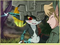 anal anal_penetration anal_sex animated blush cum_in_anus cum_in_ass fantasy imp_midna link male male/female midna nintendo penis sex sound tagme the_legend_of_zelda twilight_princess webm young zone