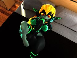 1futa 3d bare_shoulders barefoot bed big_breasts blonde_hair busty curvy detailed_background erect_nipples front_view futa_only futanari hourglass_figure humanoid imp_midna indoor inside intersex leg_lift leg_up looking_down lowkeydiag lying lying_on_back marking midna naked nintendo nude on_back open_mouth pillow pointy_ears pose posing red_eyes room shadow short_hair shortstack solo the_legend_of_zelda thick_thighs twilight_princess video_game video_games voluptuous wide_hips yellow_hair