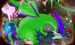 2boys alternate_color anal anthro anthrofied ass bat being_watched bioluminescence bite black_skin blue_skin bluebean cave chubby closed_eyes corrupted cum dragon feral flygon forced gay glowing_eyes green_skin hi_res interspecies japanese_text male male_only nintendo noivern nude original_character penis pokémon_(species) pokemon pokemon_bw pokemon_gsc pokemon_rse purple_skin rape ribbon scalie sex sweat tail tears text thick_thighs video_games wet wide_hips wings wooper yaoi