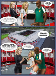 2018_fifa_world_cup anal ass bottomless comic defeat defeated dialogue extro fernanda_colombo_uliana football humiliation moussa_sow painal penalty_game poland senegal soccer soccer_uniform sports trash_talk uniform victory world_cup