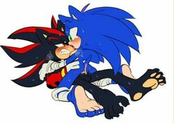 anthro male male/male sex shadow_the_hedgehog sonic_(series) sonic_the_hedgehog