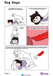 canine comic doggy doggy_style doggy_style face_down_ass_up feral feral_on_female internal internal_cumshot internal_view jaiden jaiden_animations jaidenanimations zoophilia