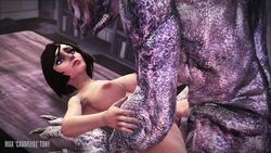 1girls 3d 5monsters after_sex alien animal_genitalia animated areolae ashen_blight big_breasts big_penis bioshock bioshock_infinite bouncing_breasts breasts cavafly01 cum_in_pussy cum_inside doom elizabeth erection fellatio female halo_(series) horsecock imp_(doom) interspecies khnum kig-yar knot knotting large_breasts long_video looking_at_viewer male moaning monster nipples nude oral penetration penis pov pussy running_a_train sangheili serious_sam sex sound source_filmmaker stomach_bulge straight vaginal_penetration webm