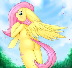 ass_focus female fluttershy_(mlp) friendship_is_magic my_little_pony solo zombie-ate
