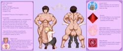 1futa 1girl abs absurdres ambiguous_penetration areolae ass back balls biceps big_balls big_penis blonde_hair bodybuilder breasts breeding brown_hair bulky bun character_sheet club_shaped_penis cock_worship color completely_nude dickgirl domination elf excessive_precum female female_on_futa femsub fist folded_ponytail from_behind front_view futa_on_female futadom futanari gaping gaping_anus green_eyes hair_bun hands_on_another's_thighs hands_on_hips hanging_balls heels huge_balls huge_breasts huge_cock hyper_muscles hyper_penis impossible_fit it'll_never_fit kneepits licking messy midriff model_sheet monster_cock muscles muscular muscular_futanari muscular_thighs nipples nude nym_luna on_knees penis penis_lick pigeon_toed pointy_ears precum prison_guard_position pussy pussy_juice restrained sawacoe sex short_ears shoulder_blades six_pack size_difference smaller_female squatting standing standing_sex stockings stretched_anus submissive text thick_penis throbbing tied_hair veiny_penis wet_pussy