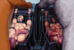 2boys 2futas abs ahe_gao aka6 areolae ass balls barbed_penis barefoot bondage breasts curvy dark-skinned_female dark-skinned_futanari dark_skin erect_nipples erection feet feral futa_with_futa futa_with_male futanari_penetrated futasub heavy_breathing huge_ass huge_balls huge_breasts huge_penis hyper hyper_penis intersex league_of_legends male male_on_futa male_penetrating male_with_male maledom moaning multiple_subs muscles muscular muscular_female muscular_futanari nidalee nipples penis restrained rough_sex screaming sejuani sex stomach_bulge thick_thighs toes urethral urethral_insertion zoophilia