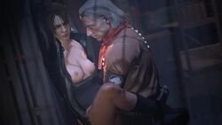 3d animated areolae erection female male metal_gear_solid metal_gear_solid_v no_panties penetration penis_under_clothes revolver_ocelot sex spread_legs straight tagme tastytextures webm