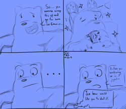 anal anal_sex brother brothers brown_bear cartoon_network closed_eyes duo fellatio fur grizzly_(wbb) grizzly_bear hi_res ice_bear male male/male mammal oral penetration penile penis sex sibling sterlingsilver technical_incest ursid ursine we_bare_bears