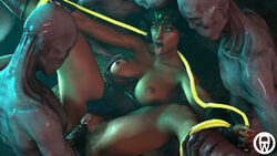 ahegao alien anal big_breasts big_penis bondage dancing_wizard double_penetration group_sex huge_breasts huge_cock pussy questionable_consent rope rope_bondage source_filmmaker tongue tongue_out wonder_woman