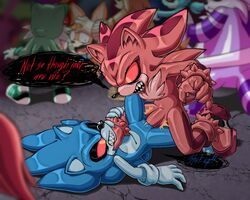 andromorph balls hi_res intersex male nowykowski7 penis pussy rule_63 shadow_the_hedgehog sonic_(series) sonic_the_hedgehog vaginal_penetration