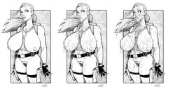 big_breasts bottomless breasts breasts_outside bukkake cum cum_spit devil_hs enormous_breasts huge_breasts lara_croft large_breasts mascara mascara_smear monochrome pubic_hair pussy spit spitting spitting_cum tagme tomb_raider vagina