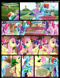 dragon female fluttershy_(mlp) friendship_is_magic kitsune_youkai male my_little_pony pinkie_pie_(mlp) pony rainbow_dash_(mlp) spike_(mlp) twilight_sparkle_(mlp)