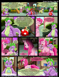 friendship_is_magic kitsune_youkai my_little_pony pinkie_pie_(mlp) spike_(mlp) tagme