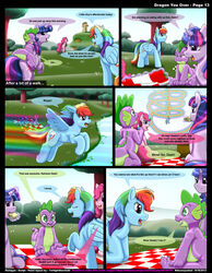 friendship_is_magic kitsune_youkai my_little_pony pinkie_pie_(mlp) rainbow_dash_(mlp) spike_(mlp) twilight_sparkle_(mlp)